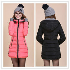 2014 new women's winter coat long paragraph Slim Down padded winter jacket