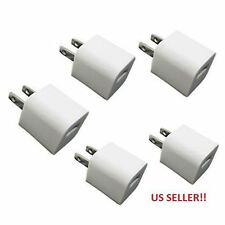 Hot Sale LOT 5x Universal USB AC House Charger Travel Wall Charger Adapter White