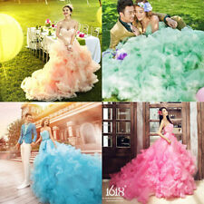 NEW Train Theme Wedding Dresses Prom Party Quinceanera Dress Pageant Ball Gown