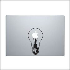 Light Bulb vinyl decal sticker Apple MacBook Pro Air iPad iPhone Commercial