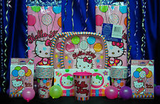 Hello Kitty Party Set # 16 Hello Kitty Party Supplies with Favors Scene Setter
