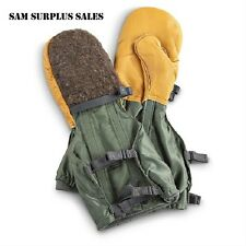 US Military * N-4B Arctic Extreme Cold Weather Mittens & Liner Set * ECW Gloves