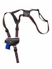 NEW Barsony Brown Leather Shoulder Holster Smith&Wesson Mini-Pocket 22 25 380