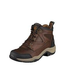 Ariat Womens Boots Terrain Trail Riding Brown Oiled Rowdy 10004128