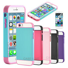 For iPhone 6 (4.7 inch) Hybrid Impact Dual Layer TPU Hard PC Matte Case Cover