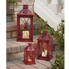 Candle Lantern Metal Indoor Outdoor Small Medium or Large Sizes Home Decor NEW