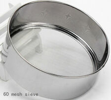 Kitchen Cake House Baking Tools Utensils 60 Mesh sieve And Colander Spoon