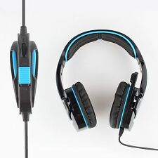 Sades 7.1 Surround HiFi Stereo Pro Gaming Headset Headphone w/Mic For PC Tablet