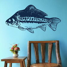 Mirror Carp Fish Wall Sticker Aquatic Wall Decal Fish Wall Transfer fi25