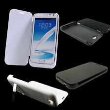 4200mAh Backup Battery Bank Flip Case Cover For Samsung Galaxy NOTE 2 N7100