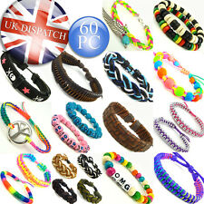 Whirlybird bracelets girls/boys charms beads leather stylish *60 STYLES*