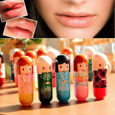 Lovely Pure Natural Girl Women Baby Lip Balm Lipstick Moisturizer 6 Flavors