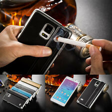 For Samsung Galaxy Note 4 HOT Fashion Cigarette Lighter Smoking Fitted Case/Skin