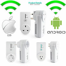 Hot Wifi Cell Phone Wireless Remote Control Switch Timer Smart Power Socket Plug