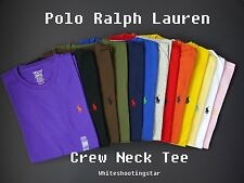 NWT LOT of 10 Polo Ralph Lauren Men's Pony Classic Fit Crew Neck T-Shirt Tee