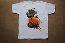PANIC AT THE DISCO PEACH COLLAGE T SHIRT NEW OFFICIAL PRETTY ODD VICES & VIRTUES