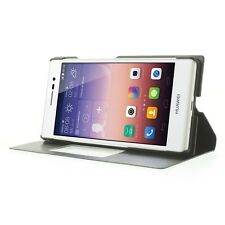 FUNDA SMART S VIEW FLIP COVER PARA HUAWEI ASCEND P7 CARCASA INTERNA PROTECTORA