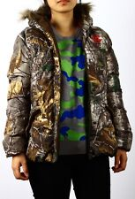 NEW STYLE! REALTREE Women's hunting Camo Bubble Insulated Parka Jacket S- XL