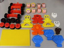 STICKLEBRICKS WHEELS - HEADS - ANIMALS - BASES - STICKLE BRICKS