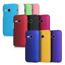 1x New Rubberized Matte Snap on Hard case cover for HTC One Mini 2 M8mini