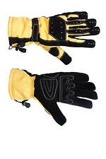 MotorCross- Leather Motorcycle MOTORBIKE Racing Protective Leather Gloves RP£45