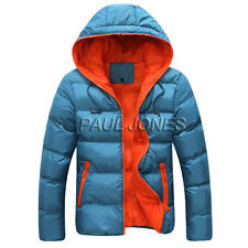 BILLIG NEU HerrenSakko Winterjacke Slim Fit Hooded Hoodies Mäntel Parka Sakko TO