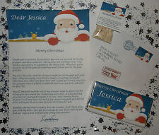 Santa Letter From Santa Reindeer Dust Food Personalised Reply Envelope Xmas Gift