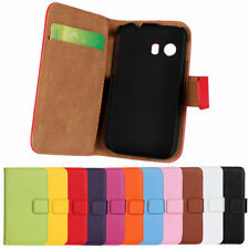 Magnetic Flip Genuine Leather Wallet Case Cover For Samsung GALAXY Y(S5360)