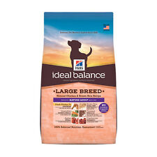 Hill's Ideal Balance Large Breed Mature Adult Natural Chicken and Brown Rice Rec
