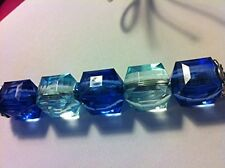 NEW!! bathroom light pulls - glass beaded- crystal - chrome - gloss- bespoke -