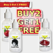 E Liquid ejuice Vapor eliquid Best E Juice Buy2GetOne FREE  10ml USA wholesale