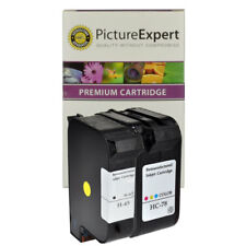 45 51645AE & 78 C6578AE Remanufactured Black & Colour Ink Cartridges For HP