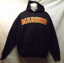 Marines Embroidered Patch Hoodie Sweatshirt United States Marines USMC SM To 3XL