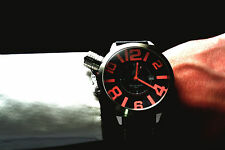 Mens Fashion Watch XL large German Tauchmeister great gift