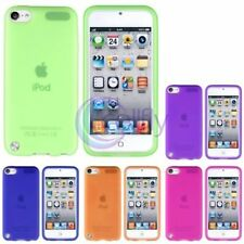 Colorful Skin Gel Rubber Back Case Cover For Apple iPod Touch 5 5th 5G Gen