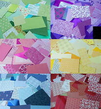 Craft clearout! Card and paper pack. 6 colour choices. 35 pieces+ Great value!!