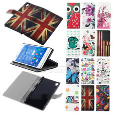 Hot Sale Flower Leather Flip Wallet Case Cover For Sony Xperia Z3 L55T / GASTON