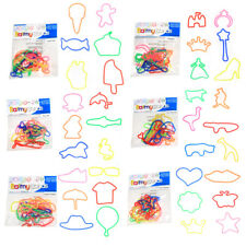 Crazy Kids' Rubber Barmy Bands Party Favour Loot Bag 12 packs