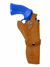 """NEW Barsony Tan Leather Western Style Gun Holster Navy Arms Rossi 6"""" Revolvers"""