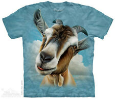 Goat Head T-Shirt from The Mountain - Sizes Adult S - 5X & Child S - XL