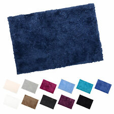 Luxury Microfibre Tufted Bath Mat With Anti-Slip Backing Bathroom Shower Rug