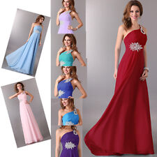 Final Cheap A Line Long Bridesmaids Party Evening Prom Formal XMAS Dresses Gowns