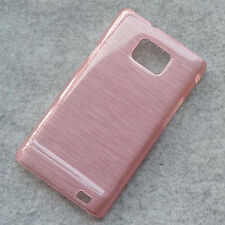 For Samsung Galaxy S2 i9100 Plus i9101 Crystal Brushed hard case Cover