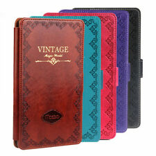 VINTAGE Style Smart PU Leather Case Cover For ASUS Google NEXUS 7 Tablet 2nd New