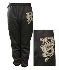 NEW MEN WOMENS PRINTED DRAGON FUNNY FLEECE JOGGER DRAWSTRING SWEAT PANTS S~5XL