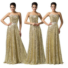 2015 ❤Top Designer❤ LONG Pageant Sequins Carpet Gowns Evening Prom Party Dresses