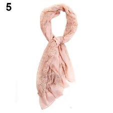 Floral print women fashion long big wraps slik shawl scarf soft scarves winter