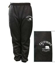 MEN WOMEN PRINT CALIFORNIA BEAR CALI FUNNY FLEECE JOGGER DRAWSTRING SWEAT PANTS