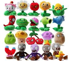 New Cute PLANTS vs. ZOMBIES Soft Plush Stuffed Teddy Toy Doll Kid Child Gift