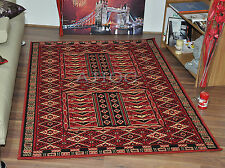 New Traditional Hazara Classic Red Area Rugs Cheap Small Extra Large Carpet Mats